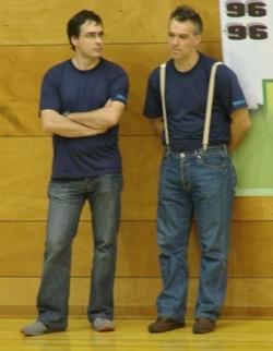 Professor Paulo Sá e Prof. Mário Santos