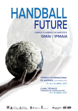 Cartaz Handball Future - Torneio Internacional de Andebol