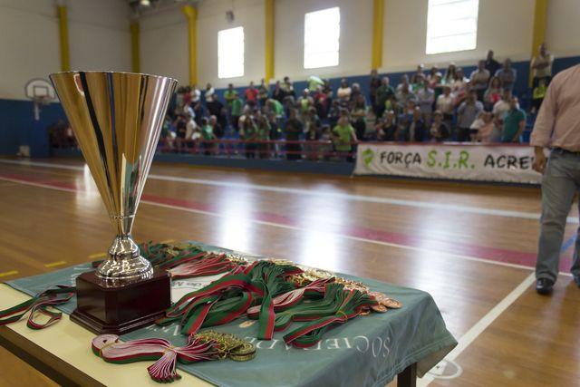 Entrega de prémios - fase final campeonato nacional juniores femininos 2014-2015 - foto: Tiago Madeira / MX Agency