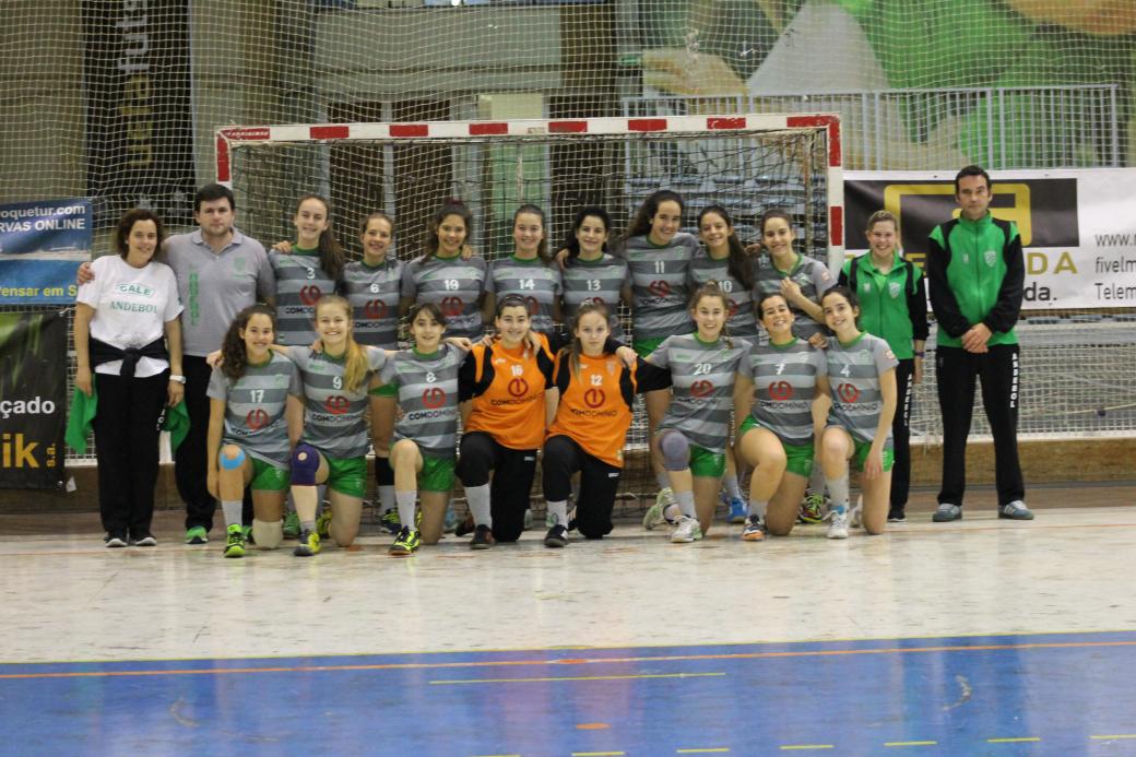 CA Leça - fase final do Campeonato Nacional Iniciadas Femininas 2014-2015