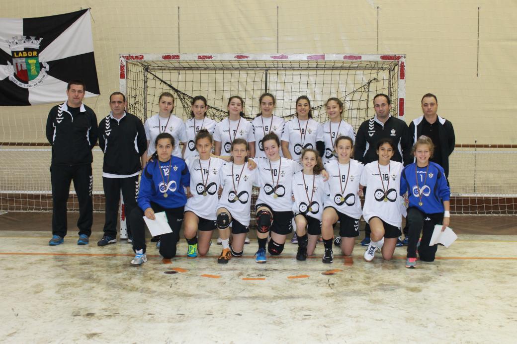 AD Sanjoanense - fase final do Campeonato Nacional Iniciadas Femininas 2014-2015