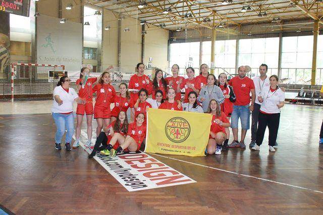 Juve Lis - prémio Fair Play - fase final do Campeonato Nacional Iniciadas Femininas 2014-2015