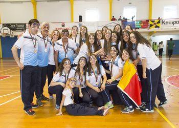 ARC Alpendorada - campeãs nacionais Juniores Femininos 2014-2015 - foto de Tiago Madeira / MX Agency