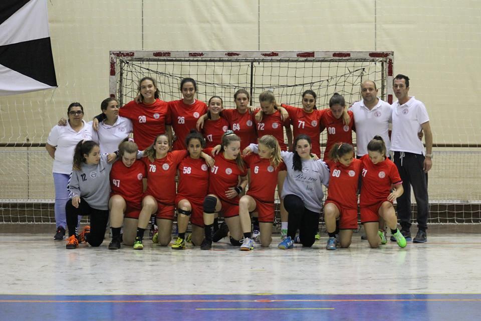 Juve Lis - fase final do Campeonato Nacional Iniciadas Femininas 2014-2015
