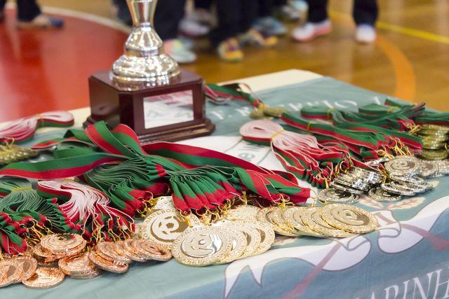 Entrega de prémios - fase final campeonato nacional juniores femininos 2014-2015 Entrega de prémios - fase final campeonato nacional juniores femininos 2014-2015 - foto: Tiago Madeira / MX Agency