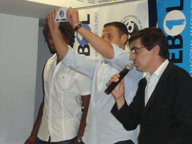 Sorteio Supertaça Fafe 2012 - Gilberto Duarte, Hugo Laurentino e Luis Pacheco