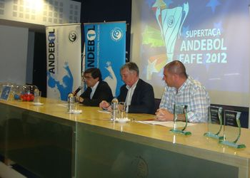 Sorteio Supertaça Fafe 2012 - Luis Pacheco, Ulisses Pereira e António Galambas