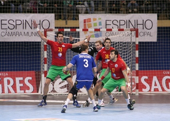 Portugal-Ucrânia - Espinho - 15.01.2012