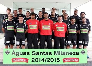 Foto Aguas Santas Milaneza - 2014-15 (ao baixo)