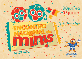 Cartaz Encontro Nacional de Minis 2016