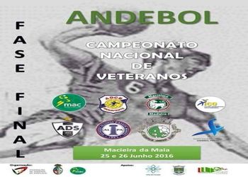 Cartaz Fase Final do Campeonato Nacional de Veteranos