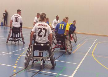 Portugal - Suécia - 2º Torneio Europeu de Andebol em Cadeira de Rodas
