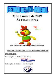 Festand de Mini-Andebol - A.A. Évora