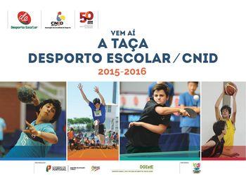 Taça Desporto Escolar / CNID 2015 - 2016