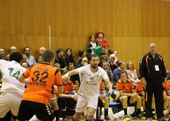 Pedro Spínola no jogo Portugal-Holanda - Torneio Terras do Demo - Moimenta da Beira - Abril 2016