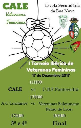 Cartaz Torneio Ibérico Veteranas Femininas