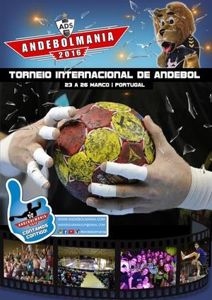Cartaz Andebolmania 2016