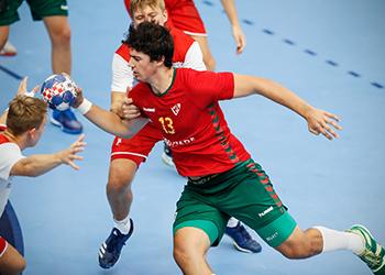 Noruega : Portugal - Europeu Sub-18 Masculinos - foto: Uros Hocevar