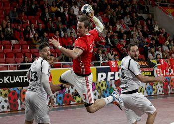 SL Benfica : MT Melsungen - EHF Cup - foto: Ricardo Rosado