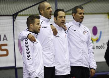 Equipa técnica Juniores A - masculinos - Oviedo 2015