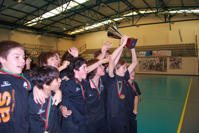 AA Águas Santas Campeão Nacional Infantis Masculinos 2009-10