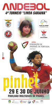 Cartaz 4º Torneio Linda Saraiva 2013