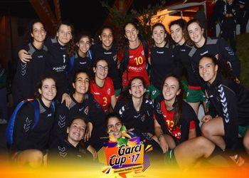 Juniores B Femininas no Torneio Garci Cup 2017