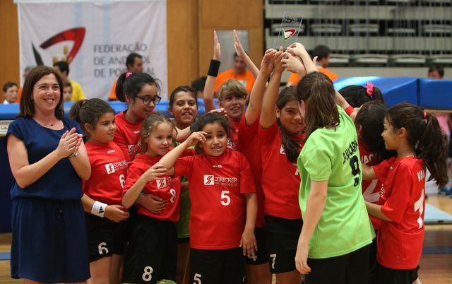 CP Vacariça - Prémio Fair Play - Cerimónia de Encerramento do Encontro Nacional de Minis Masculinos e Femininos Santo Tirso 2017