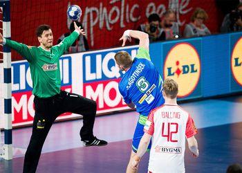 Eslovénia : Dinamarca - Campeonato da Europa 2018 - foto: Sasa Pahic Szabo