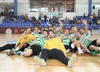 Sporting CP - campeão nacional juniores 1.ª divisão