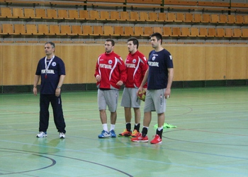 Treino Seleção na Suíça - 03.04.2013 - Rolando, Spínola, Tiago Pereira e Tiago Rocha