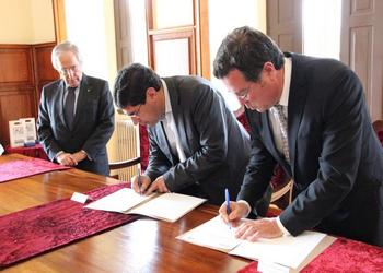 Assinatura Protocolo Mirandela