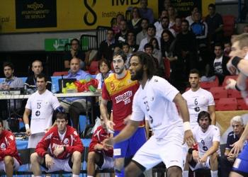 Wilson Davyes no jogo Espanha-Portugal