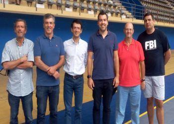 David Tavares embaixador do andebol do Sporting Clube de Espinho