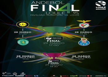 Cartaz Final Four da Taça de Portugal Loulé 2015