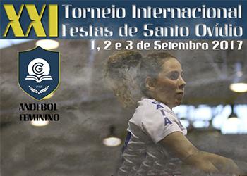 Cartaz - XXI Torneio Internacional Festas de Santo Ovídio