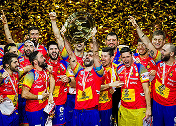 Espanha : França - Campeonato da Europa 2018 - foto: Nebojsa Tejic