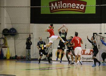 Águas Santas-Milaneza : SL Benfica - Campeonato Fidelidade Andebol 1 - Foto: António Oliveira