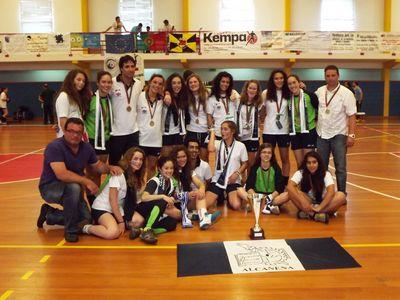 JAC Alcanena - campeã nacional de Iniciadas Fem. da 1ª divisão 2011-12