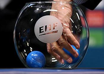 Sorteio EHF - Bolas