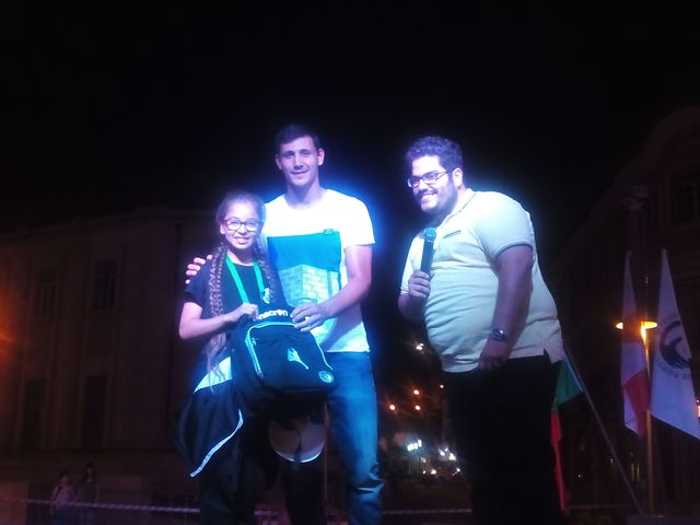 Cerimónia de Abertura do Encontro Nacional Infantis em Leiria