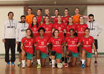 Seleção Nacional A Feminina 2017-2018 - foto: Pedro Alves