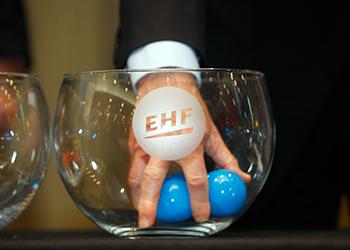 Bolas Sorteio EHF - 2018