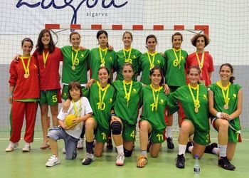 Escola Secundária Adolfo Portela (Águeda) - vencedoras  61º Jogos Internacionais da FISEC