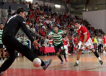 SL Benfica : Sporting CP - Campeonato Andebol 1 - foto: Ricardo Rosado