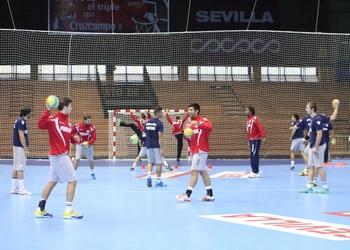 Seleção Nacional Sénior Masculina - Treino Sevilha