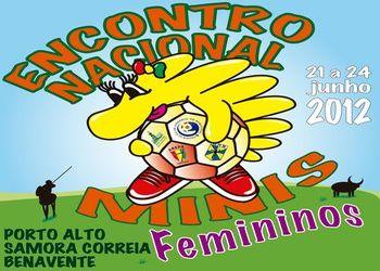 Cartaz Encontro Nacional Minis Femininos 2011/12