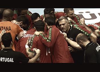 Por Portugal tudo. Unidos venceremos!