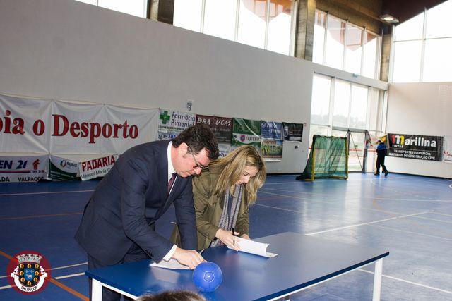 Assinatura de protocolo e Festand em Valpaços