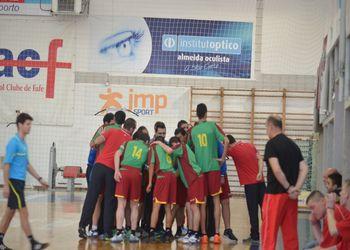1º Campeonato Europeu de Andebol INAS - Fafe 2015: Portugal - Polónia